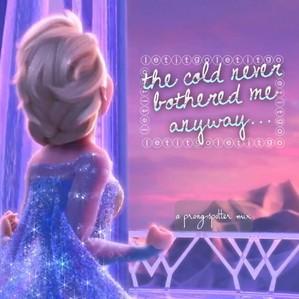 Frozen Elsa Quote