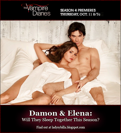 The Vampire Diaries Vampire Diaries Season 4: Will Elena & Damon Sleep