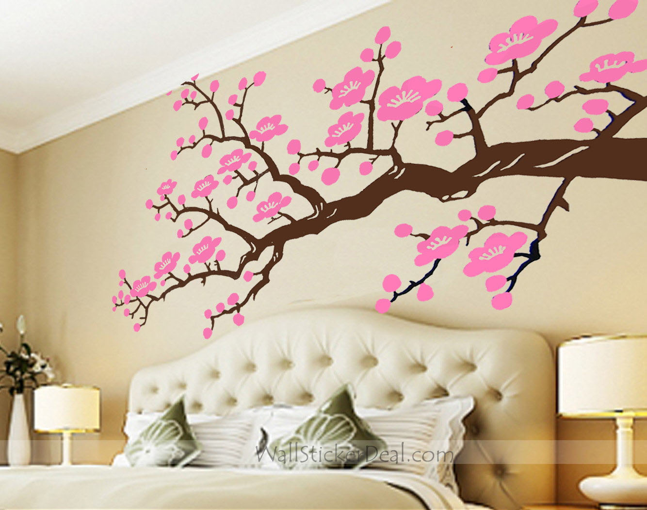 cherry blossom branches wall stickers home decorating photo dandelion blossom wall decals stickers appliques home decor