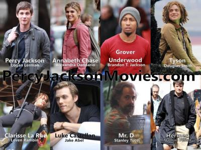 The Heroes of Olympus The Sea of Monsters cast