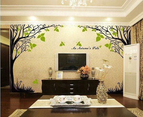autumn tale tree wall sticker home decorating photo wall decoration sticker wall decals wall stickers buy wall stickers