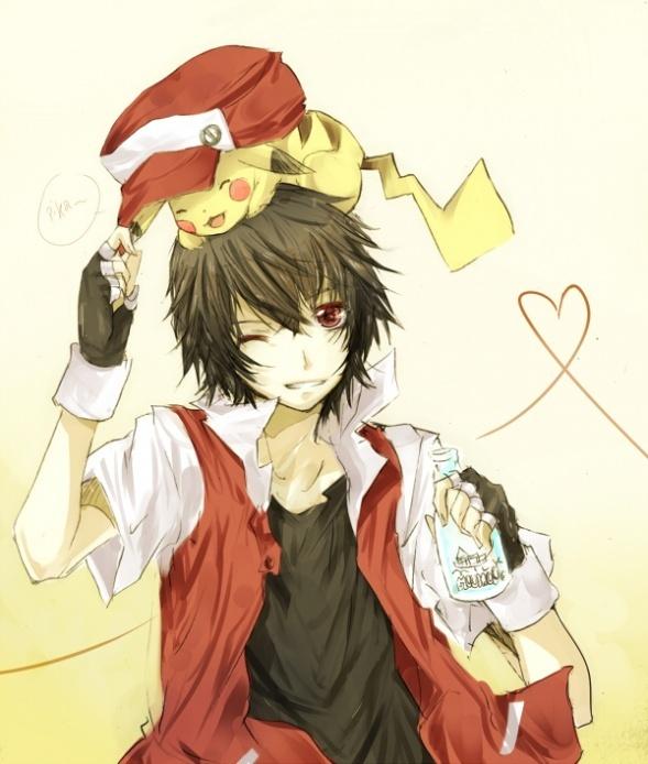 Neko Jacket Anime Wallpaper Girl Red Pokemon Images Red Kun Wallpaper And Background