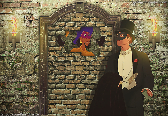 disney crossover images The Cask of Amontillado wallpaper and