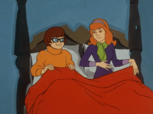 Scooby Doo Images Velma And Daphne In Bed Hd Wallpaper And