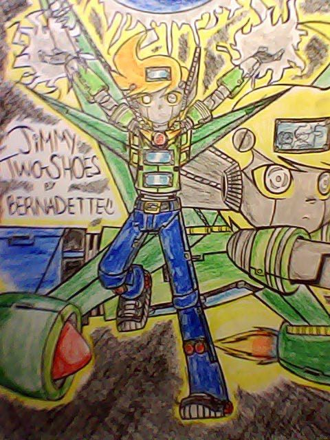 Anime Friends Wallpaper Jimmy Two Shoes Images My Drawing Of Animated Voltron