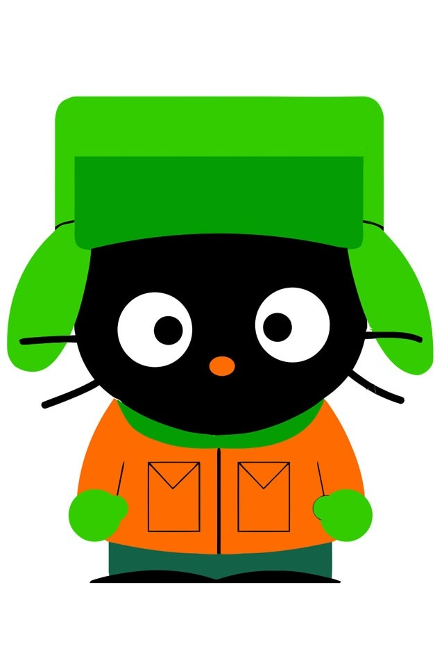 Cute Kitty Cartoon Wallpaper Kenny Shadow And Kyle Images Cute Hello Kitty Characters