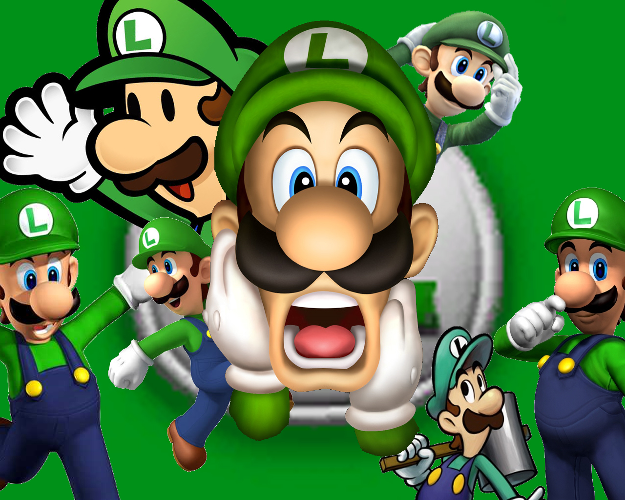 3d Wallpaper Mario Luigi Super Mario Bros Wallpaper 32954728 Fanpop