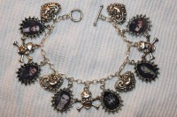 BVB bracelet and earrings - Black Veil Brides Fan Art ...