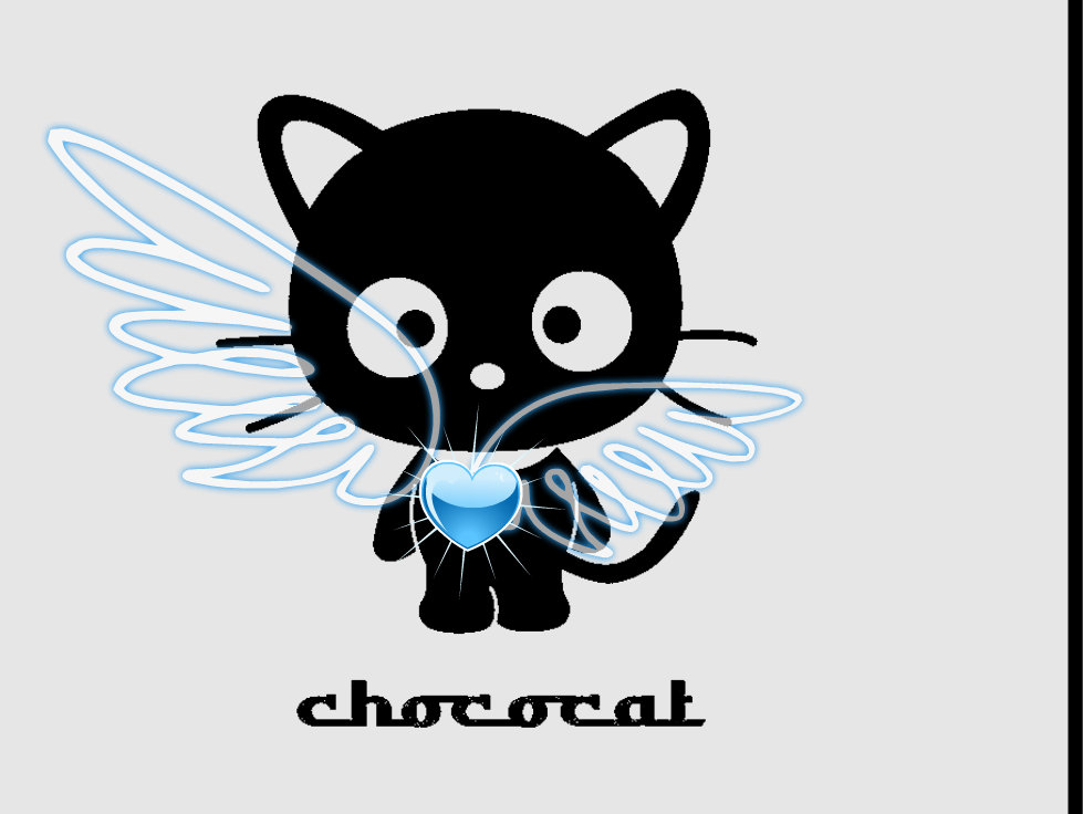 Cute Notepad Wallpaper Chococat Images Chococat Heart Hd Wallpaper And Background