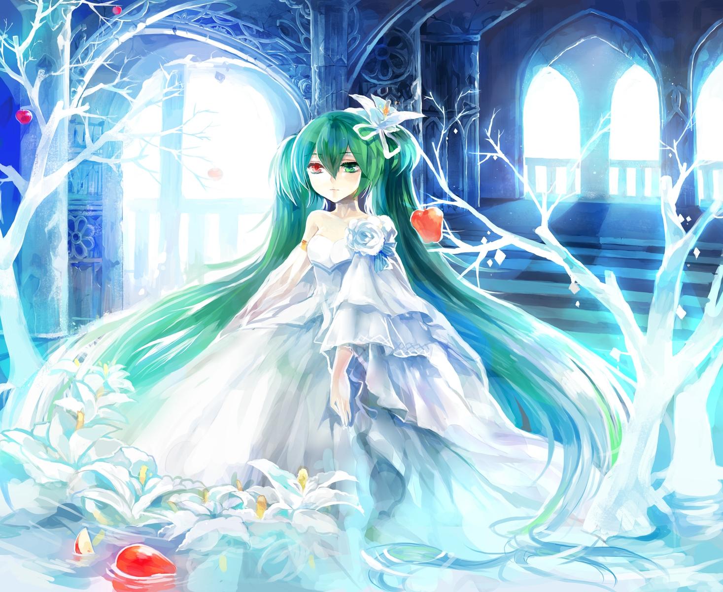Cute Girls Dresess Cute Anime Wallpaper Hd Imagenes De Miku Hatsune Taringa