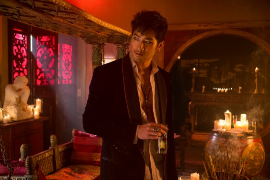 "photo for ""The Mortal Instruments: City of Bones"" movie! [Magnus Bane"