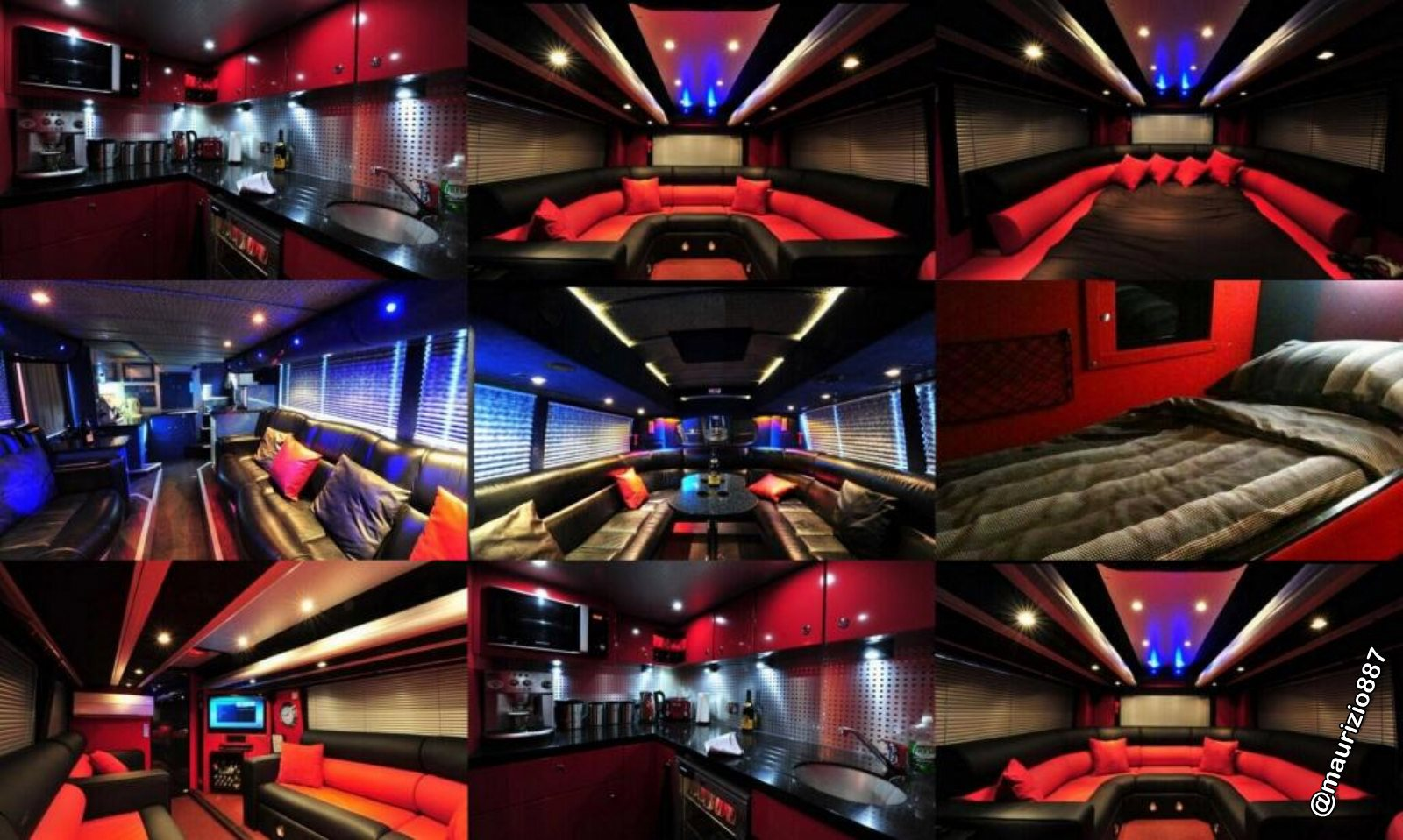 One direction tour bus interior - One Direction Tour Bus Interior 1