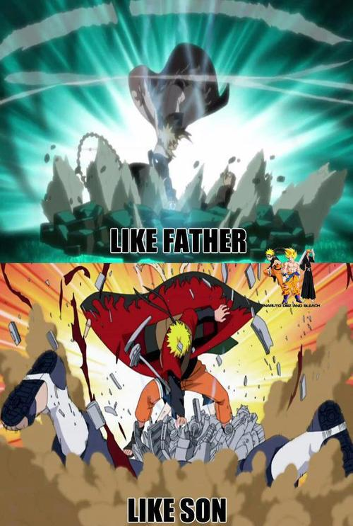 Naruto Quotes About Pain Wallpaper Minato Namikaze Images Like Father Like Son Wallpaper