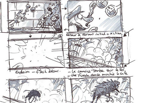 A Monster In Paris images A Monster in Paris Storyboard wallpaper - anime storyboard