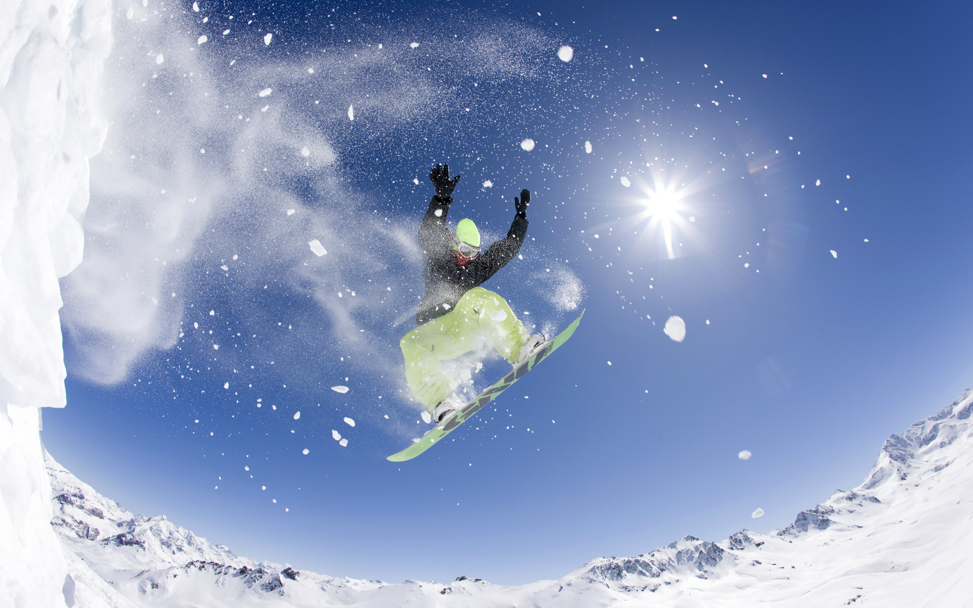 Snowboard Bank Snowboarding Images Snowboarding Hd Wallpaper And