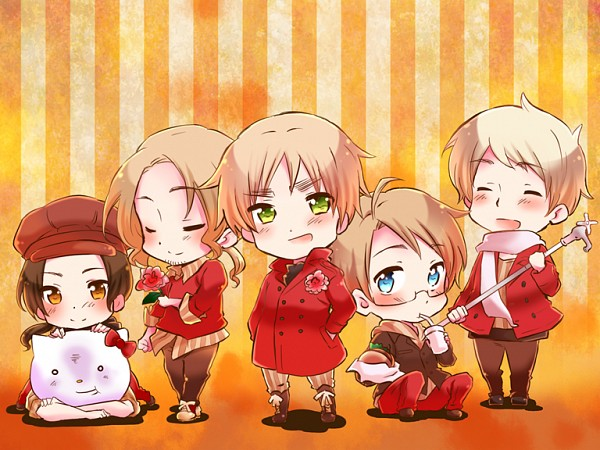 Cute Rabbit Wallpaper Free Download Hetalia Images Chibi Allies Wallpaper And Background