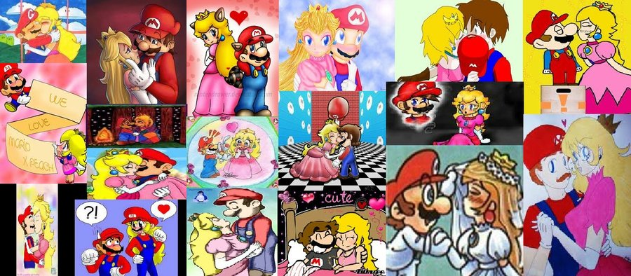 Cute Cartoon Girl Wallpaper Download Mario X Peach Images Mario X Peach Wallpaper And