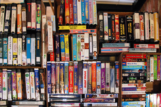Iphone Christmas Shelf Wallpaper Vhs Images Shelf Of Vhs Tapes Wallpaper And Background