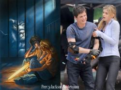 ... Jackson And Annabeth Chase Percy and Annabeth in PJ: Sea of Monsters