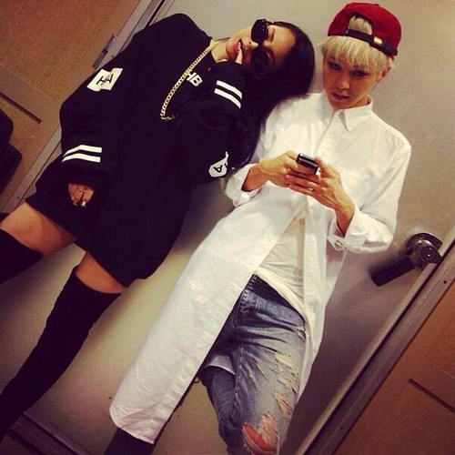 2ne1 Falling In Love Wallpaper 2ne1 Images Cl S Instagram Update Quot Mr G Dragon Quot 130922