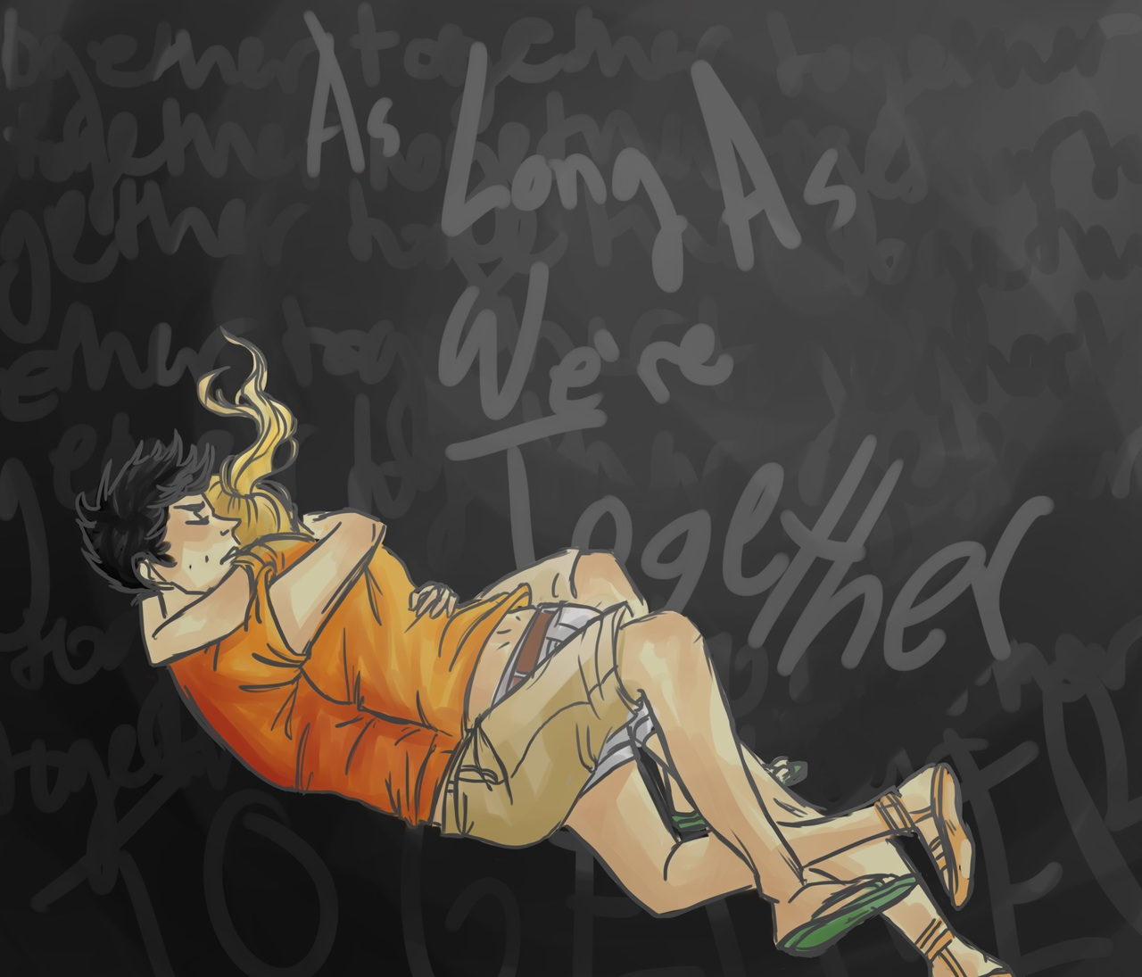 Wallpaper Falling Off Wall The Heroes Of Olympus Images Percy Jackson Fan Art Hd