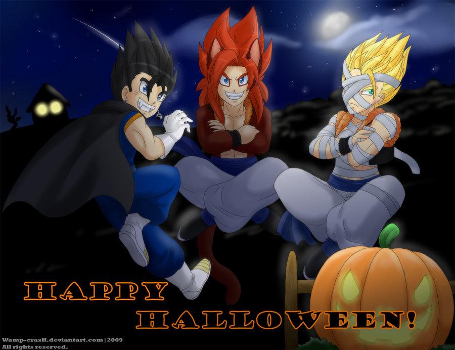 Dragon Ball Z Girls Wallpaper Rileyferguson Images Happy Halloween Hd Wallpaper And