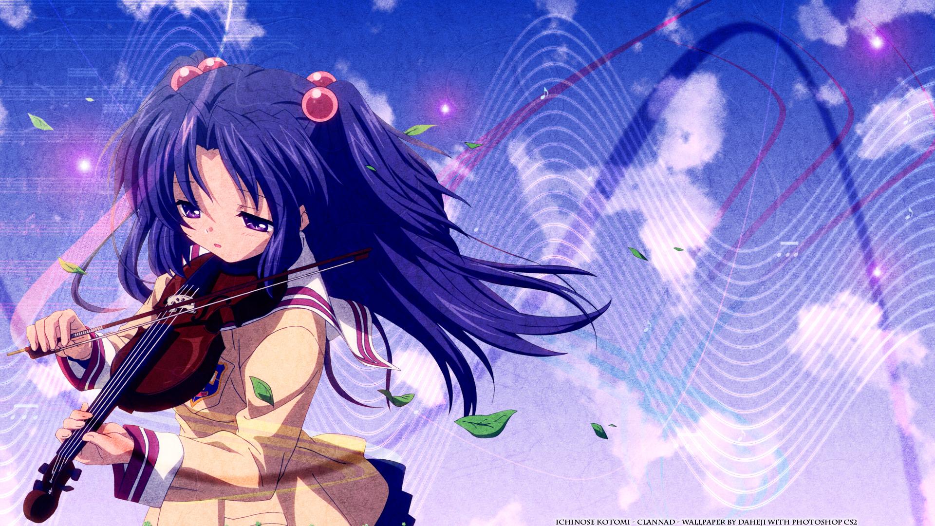 Sad Alone Girl Hd Wallpaper Download Clannad Girls Images Kotomi Ichinose Hd Wallpaper And