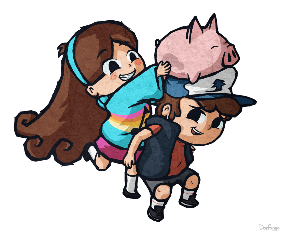 Gravity Falls Trust No One Wallpaper Dipper Mabel And Waddles Gravity Falls Photo 36198097