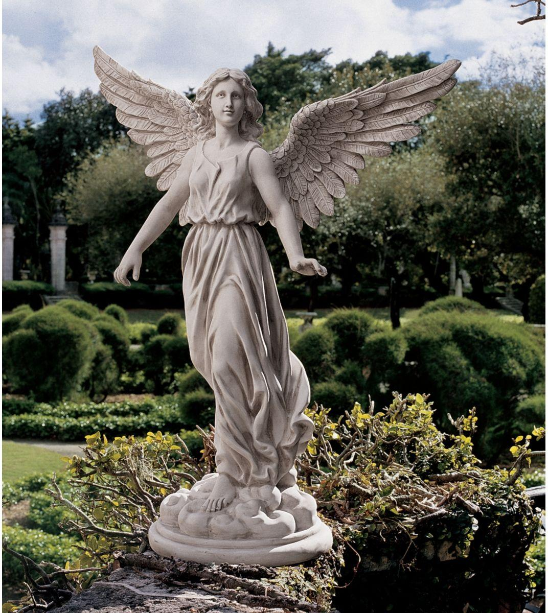 Statues For The Garden All Arts Images Angel Sculpture Hd Wallpaper And