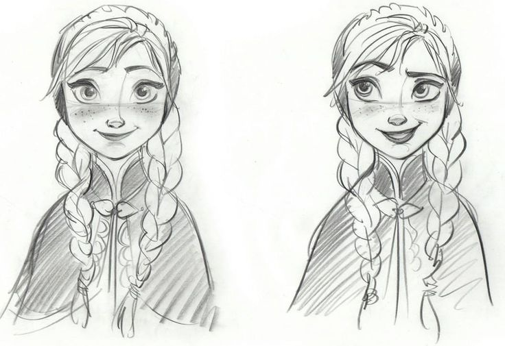 Disney Sketches images Anna Sketch HD wallpaper and background - background sketches