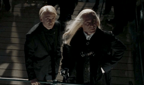Ferret Wallpaper Iphone Lucius And Draco Lucius Malfoy Photo 36409675 Fanpop