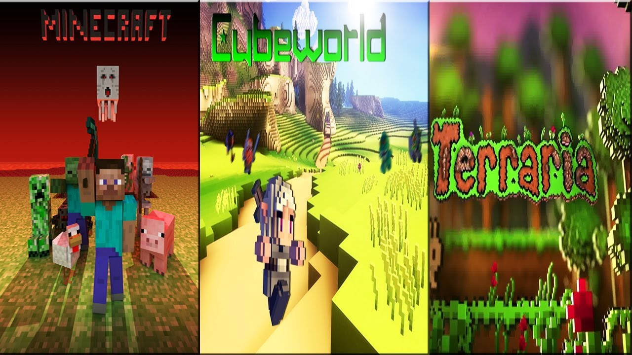Cute Sushi Wallpaper Hd Talking And Having Fun Images Minecraft Vs Cubeworld Vs