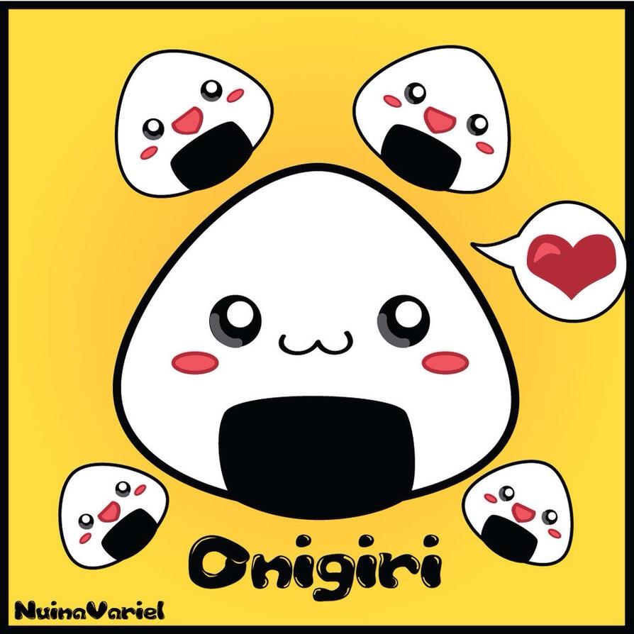 Cute Cartoon Sushi Wallpaper Kawaii Food Images Kawaii Rice Balls Hd Wallpaper And