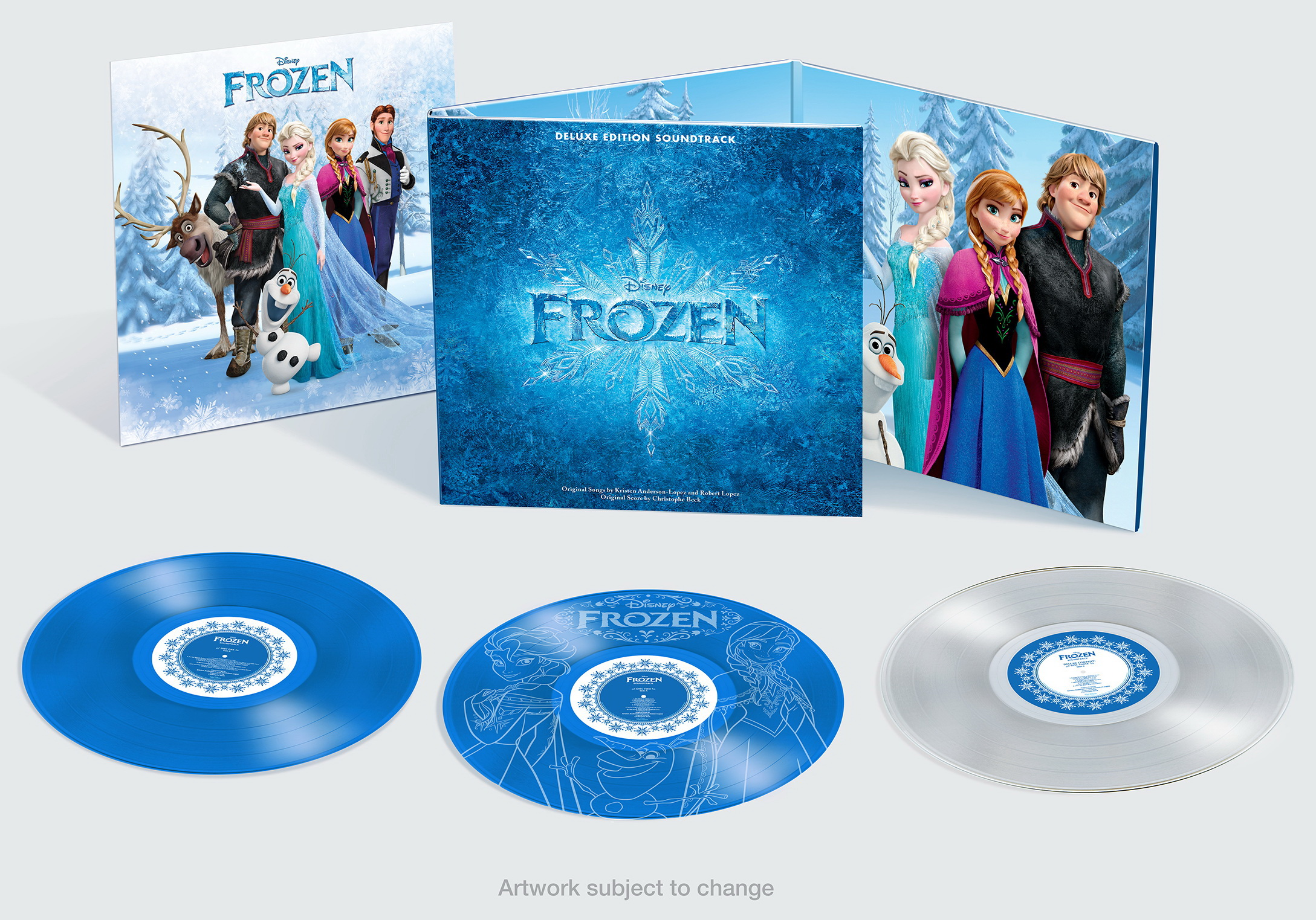 Frozen Cancion Español Libre Soy Disney Frozen Soundtrack Deluxe Edition On Vinyl Limited