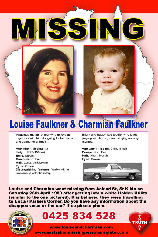 the missing people images Louise and Charmian Faulkner HD wallpaper