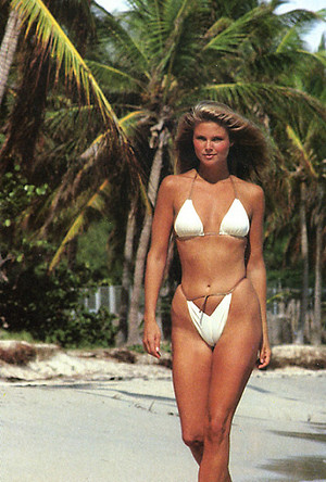 Fast Car Magazine Wallpapers Sports Illustrated 1980 Photoshoot Christie Brinkley