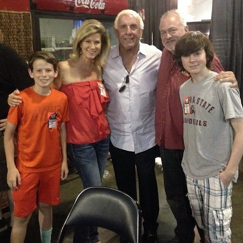 Rikishi Car Wallpaper Chandler Riggs Images Chandler With Family Backstage Of