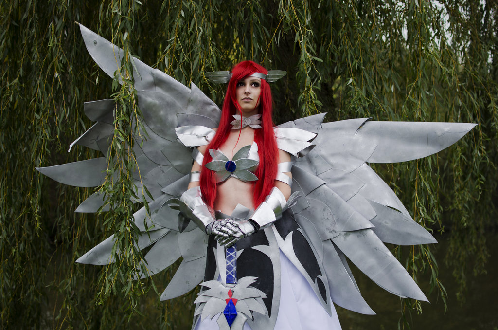 Fairy Tail 3d Wallpaper Fairy Tail Cosplay Images Erza Scarlet Heavens Wheel