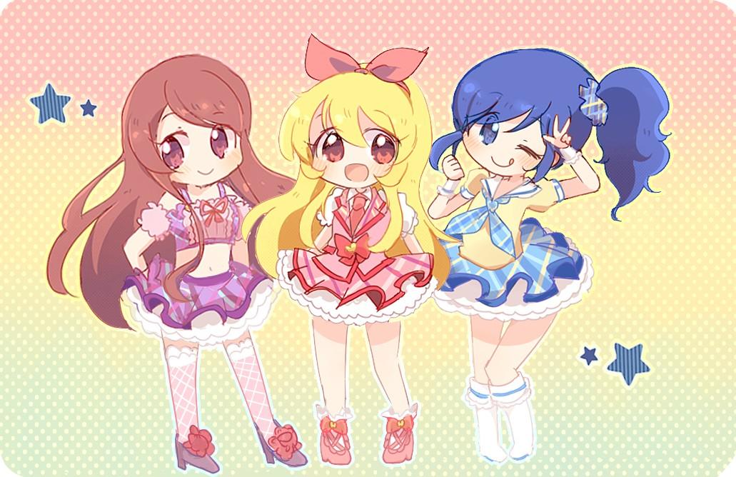 Girl And Boy Cartoon Wallpaper Anime Music Images Aikatsu Aidoru Katsudo Hd Wallpaper