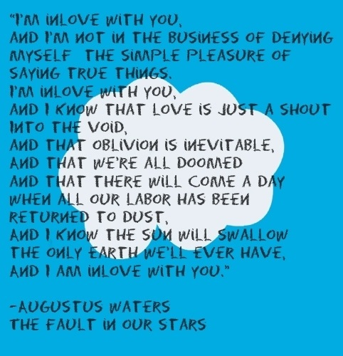 Tfios Wallpaper Quotes The Fault In Our Stars Images Quote 4 I Love You