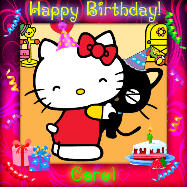 Life Is A Gift Quotes Wallpaper Hello Kitty Happy Birthday Quotes Quotesgram