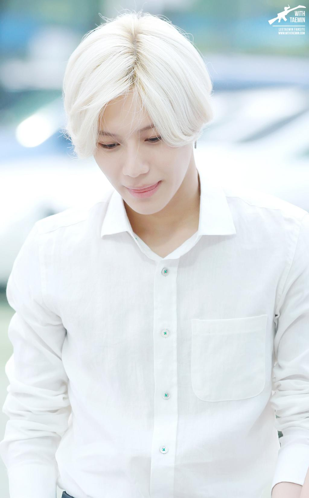 Yoonmin Cute Pictures For Wallpapers White Hair Taemin