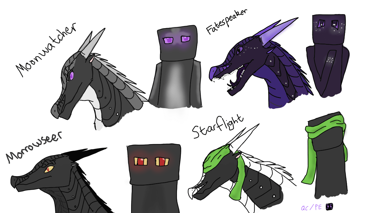 Dragon Toothless Cute Wallpaper Minecraft Images Nightwings As Endermen Hd Wallpaper And