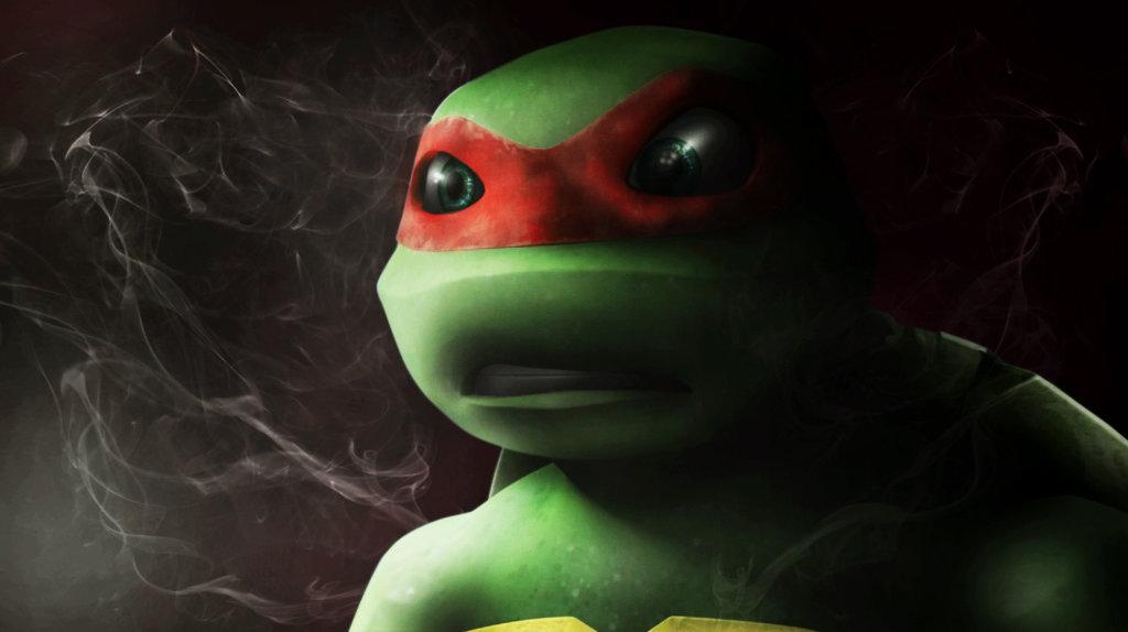 Cute Ninja Turtle Wallpaper Raphael And Leonardo Tmnt Club Images Raphael Smoke Hd