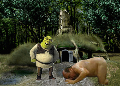 Puss In Boots Wallpaper Hd Shrek Images A Loyal Shrek Follower Bowing Down To The