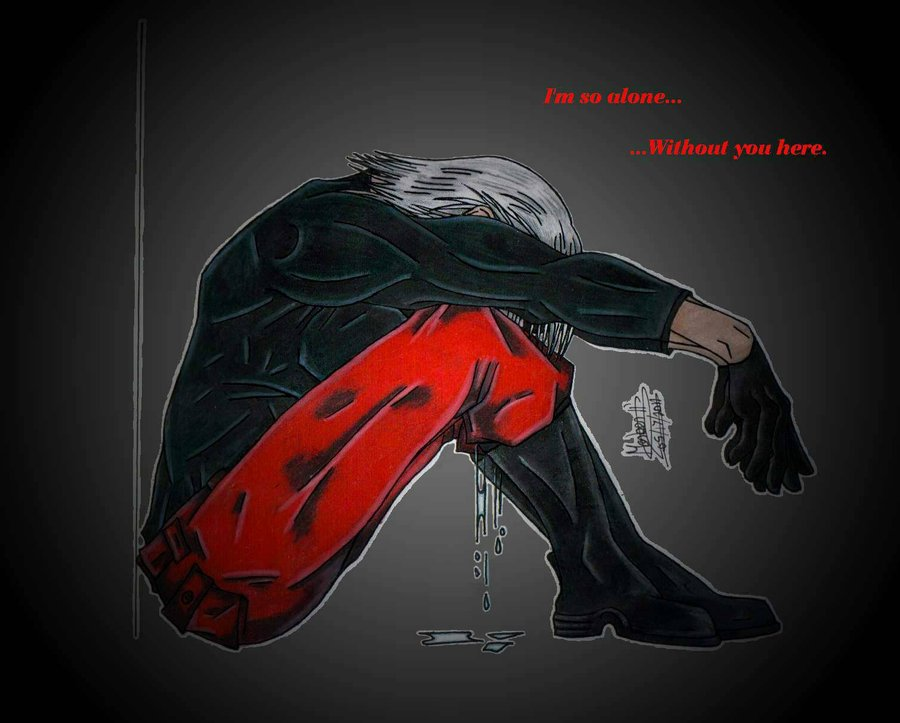 Sad Alone Girl Hd Wallpaper Download Devil May Cry Anime Images I M So Alone Hd Wallpaper And