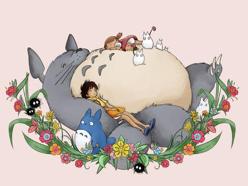 Cute Totoro Wallpaper My Neighbor Totoro Images My Neighbor Totoro Hd Wallpaper