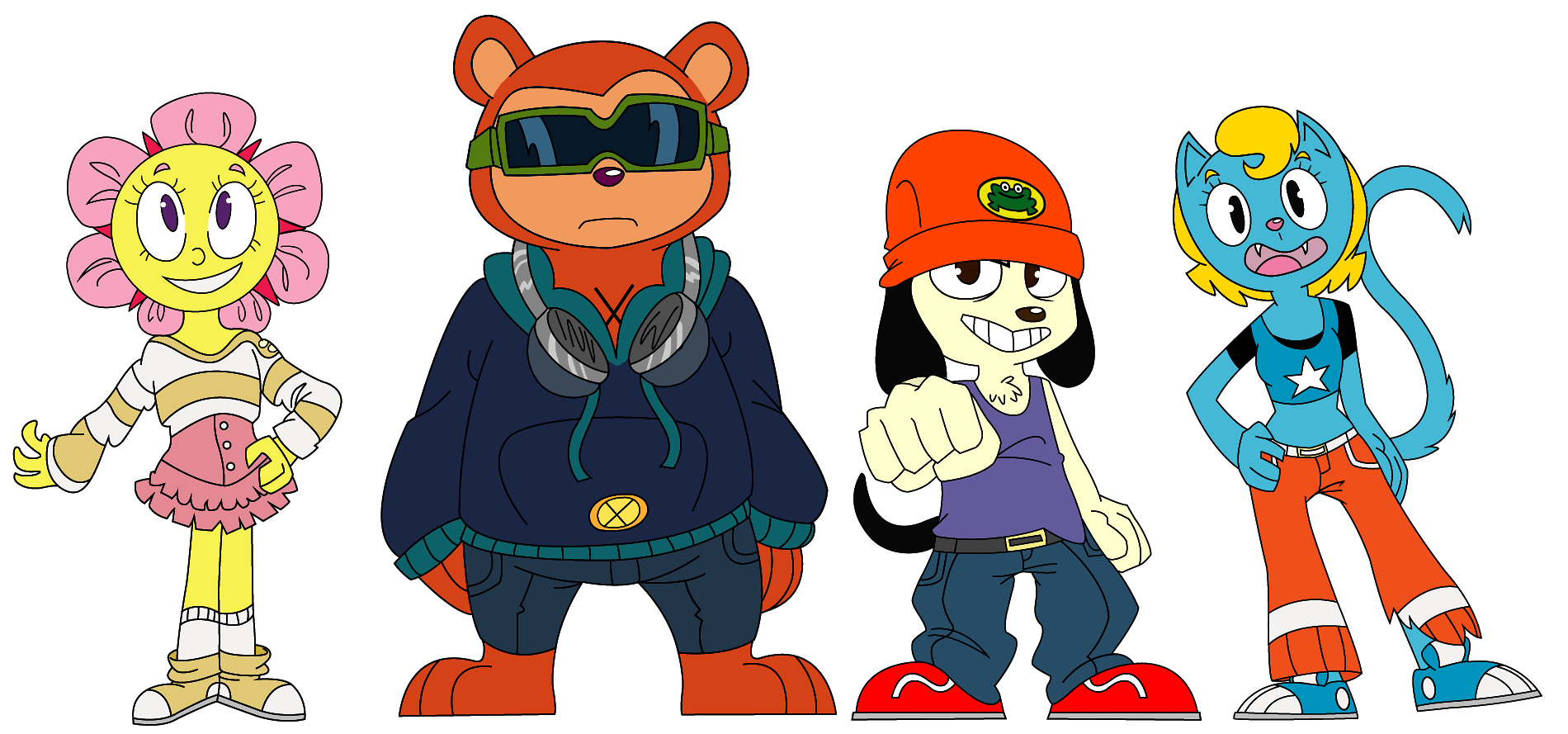 Princess Anime Wallpaper Parappa The Rapper Images Parappa Team Hd Wallpaper And