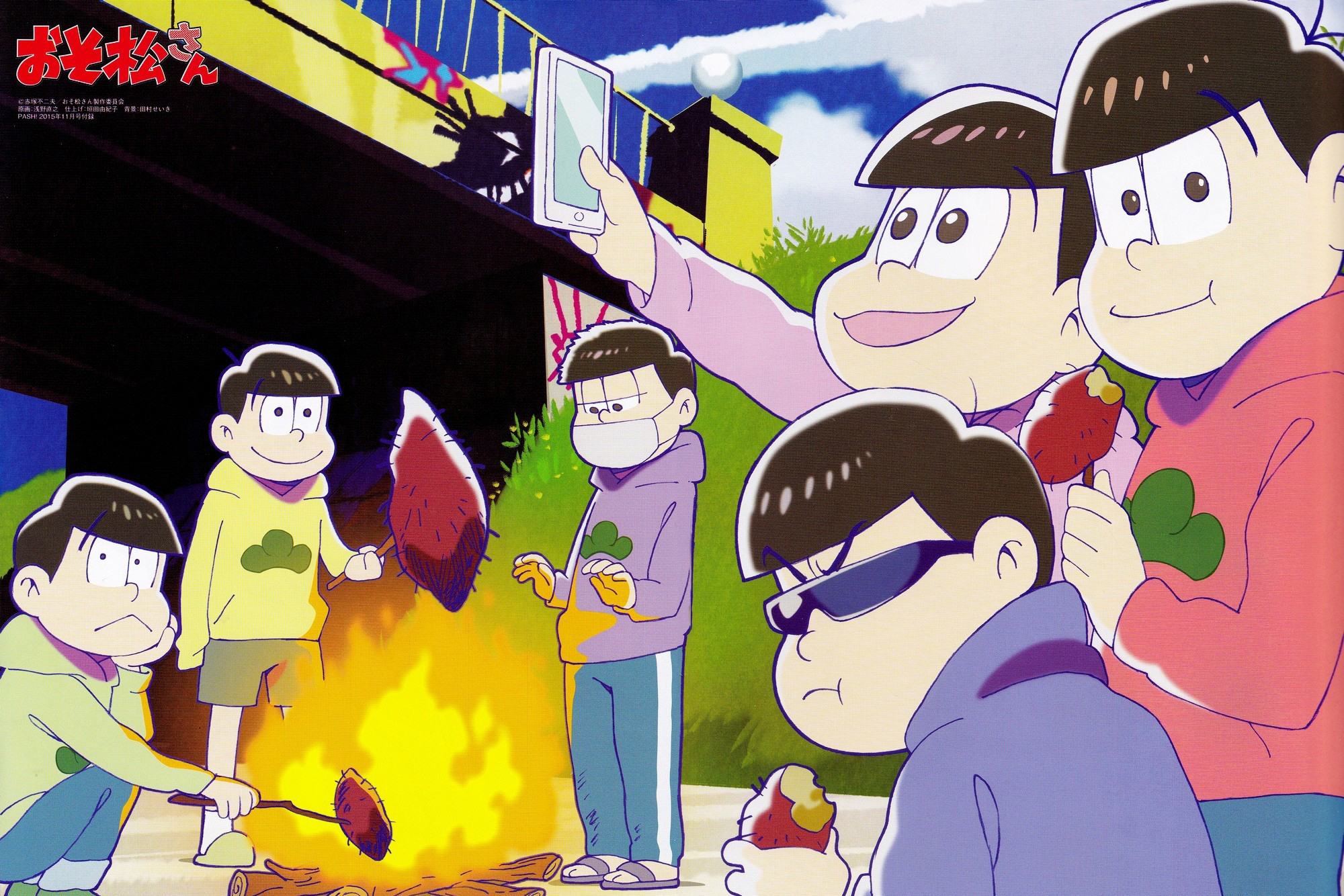 Cute Osomatsu San Wallpapers Osomatsu Images Poster Hd Wallpaper And Background Photos
