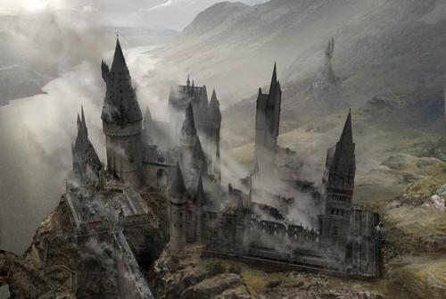 3d Wallpapers Friends Forever Harry Potter Images Battle Of Hogwarts Concept Art Hd Fond